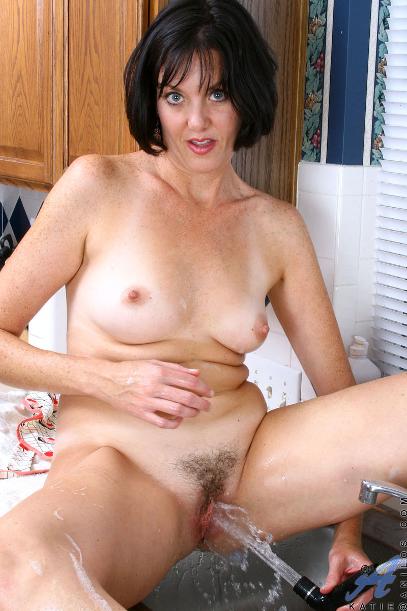 Naked house wife