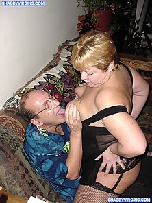 Hot BBW virgin tastes first sex with mature guy