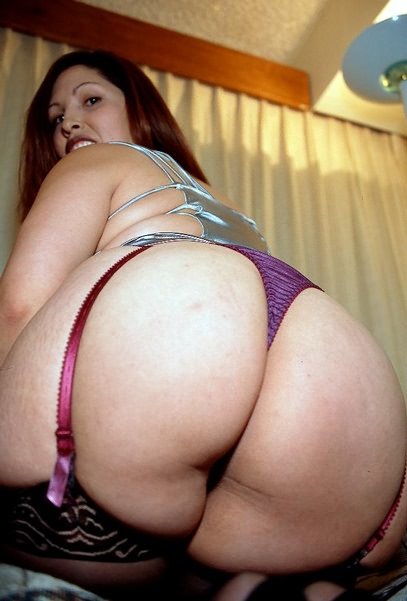 Chubby in a thong think